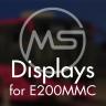 [ono] MS Displays Mod | V3D E200MMC
