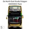 Go North East Studio Polygon E400MMC Pack
